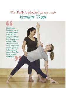 The Path to Perfection through Iyengar Yoga